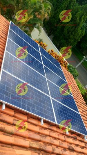 Instalação Fotovoltaica concluída