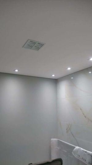 Iluminação no quarto (Spots embutidos)