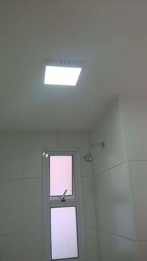 Instalação de luminárias Plafons