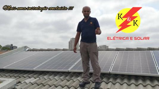 Instalação fotovoltaica em Arujá